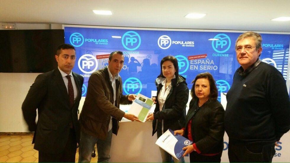 Reunión entre PP y UniónGC en Ourense