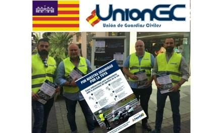 UnionGC denuncia que la Guardia Civil es el cuerpo de seguridad del Estado peor pagado