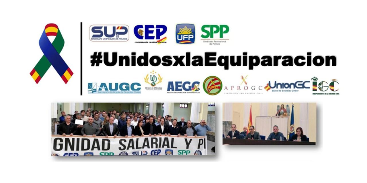 I reunión de responsables asociativos y sindicatos sobre la #equiparación salarial