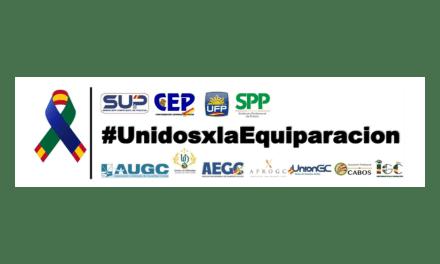 Importante y urgente información sobre #equiparacionya