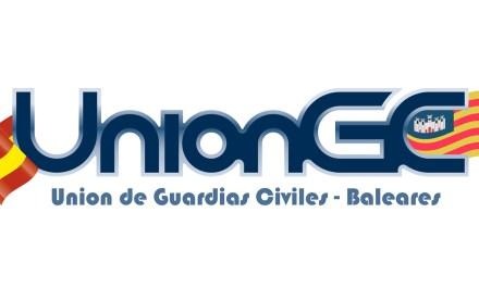 UnionGC, Union de Guardias Civiles y los sindicatos policiales protestan ante las conferencias de Mossos de Escuadra en Baleares