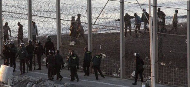 """UnionGC pide usar material antidisturbios en Ceuta y Melilla: """"Nuestras vidas están en juego"""""""