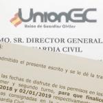 UnionGC solicita cambios en los turnos de Navidad para facilitar los desplazamientos de los agentes