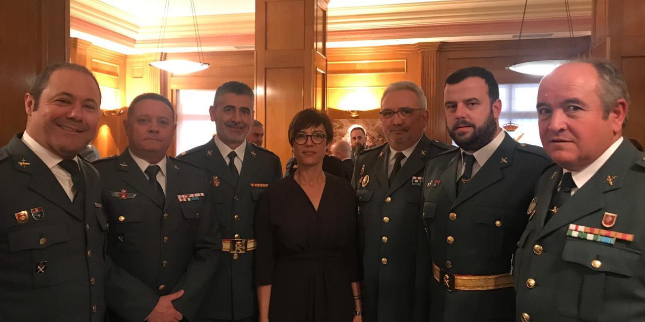 UnionGC Asiste a la toma de posesión de María Gámez como Directora General de la Guardia Civil
