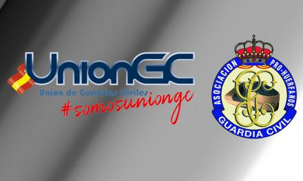 UnionGC y el resto de las asociaciones se reúne con la asociación Pro Huérfanos de la Guardia Civil