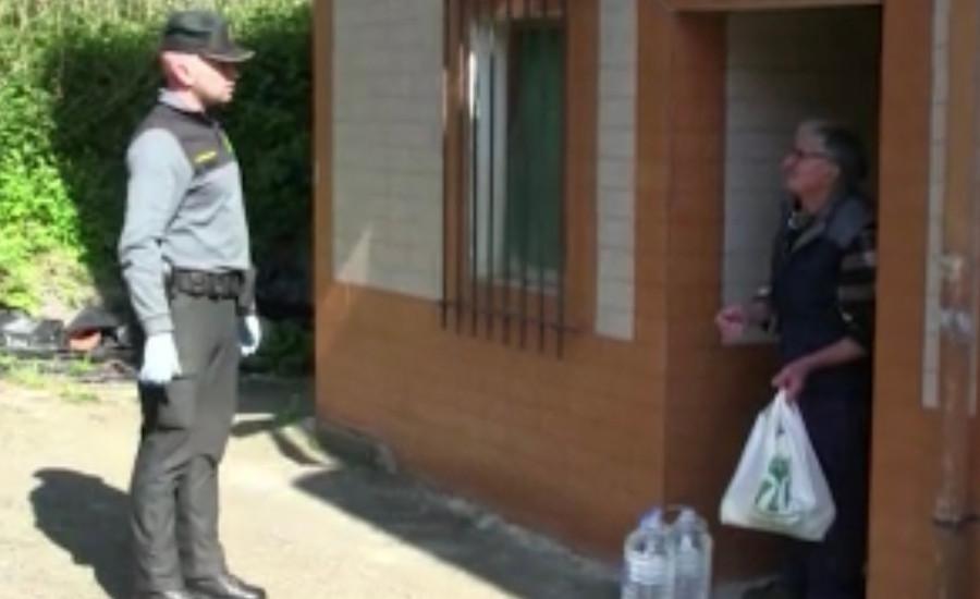 Ayuda en tiempos del coronavirus, la Guardia Civil siempre Benemérita