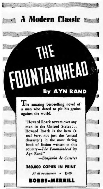FOUNTAINHEAD-AD-DeCQuoted-New-York-NY-Sun-1946---0153