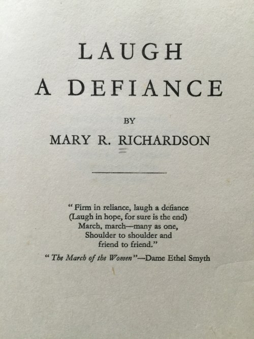 laughadefiance