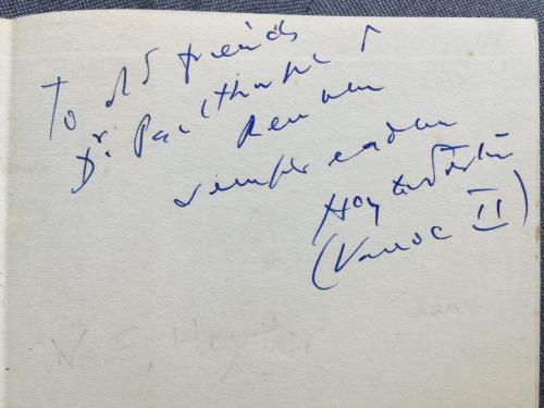 Signed by Vanoc II.