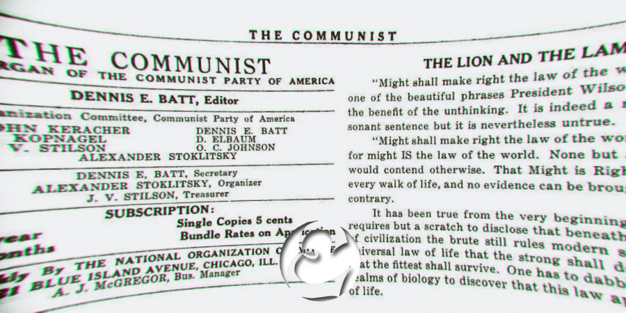 Image result for might is right communist
