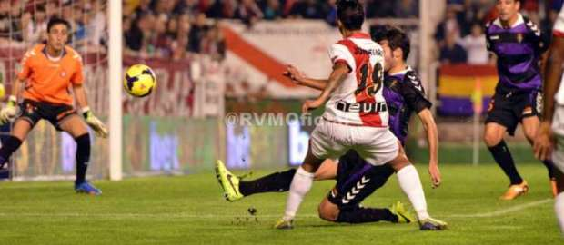 Rayo 0-3 Valladolid