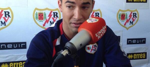Entrevista con Merino antes del Atlético-Juvenil A