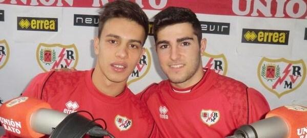 Christian Roibu y Daniel Figueroa del Juvenil B
