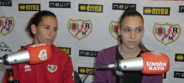Previas de los equipos femeninos con Ale y Yaiza