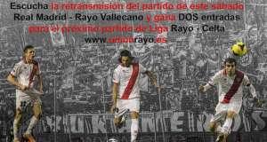 SORTEO: Escucha el R.Madrid – Rayo y gana 2 entradas