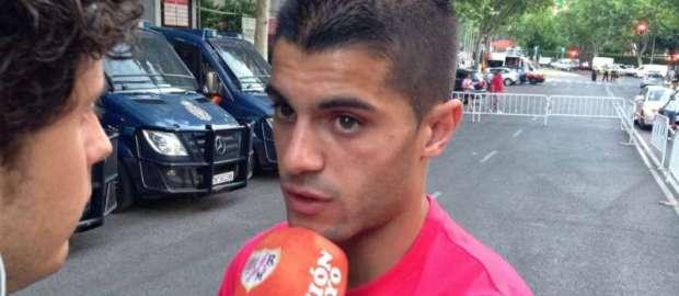 Iago Falque tras el Rayo 1-2 Getafe