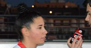 """Raquel Carreño tras volver de su lesión: """"Ha sido como un debut, estaba muy nerviosa"""""""