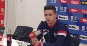 """Alex Moreno: """"Me siento bien, noto la confianza del mister"""""""