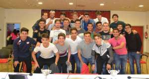 Programa homenaje al Rayo Juvenil A, campeón de Liga