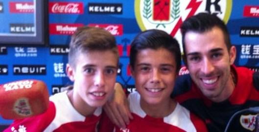 El Infantil B de Nacho Román con Crespo y Roberto