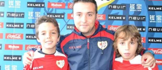 Entrevista al Alevín A con José Luis Rueda, Vitu y Julio.