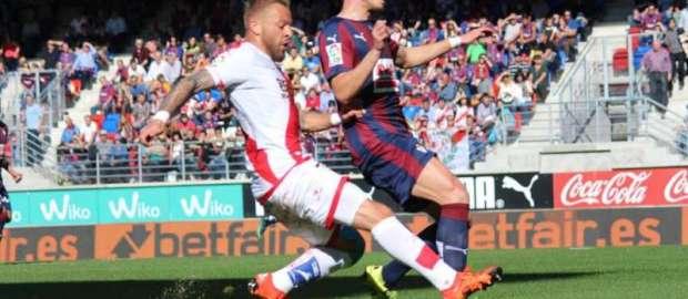 SD Eibar 1-0 Rayo Vallecano