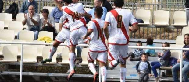 Crónica del Rayo B 4-0 Leganés B