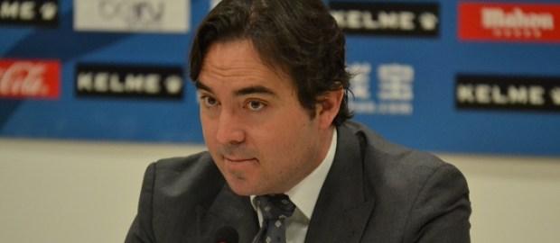 """Martín Presa: """"No sabemos si Zozulya jugará o no en el Rayo"""""""