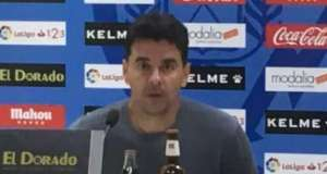 Rueda de prensa de Míchel tras el Rayo 2-0 Lugo