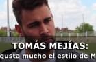 """Tomás Mejías: """"Me gusta mucho el estilo de Míchel"""""""
