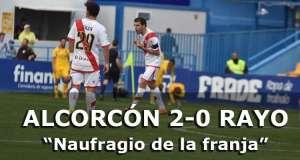 Crónica: Alcorcón 2-0 Rayo