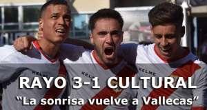 Crónica: Rayo Vallecano 3 – 1 Cultural Leonesa