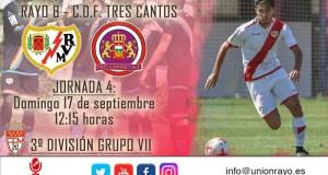 Previa: Rayo B – CDF Tres Cantos