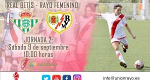 Previa: Betis – Rayo Femenino
