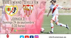 Previa: Rayo Femenino – Sevilla Femenino