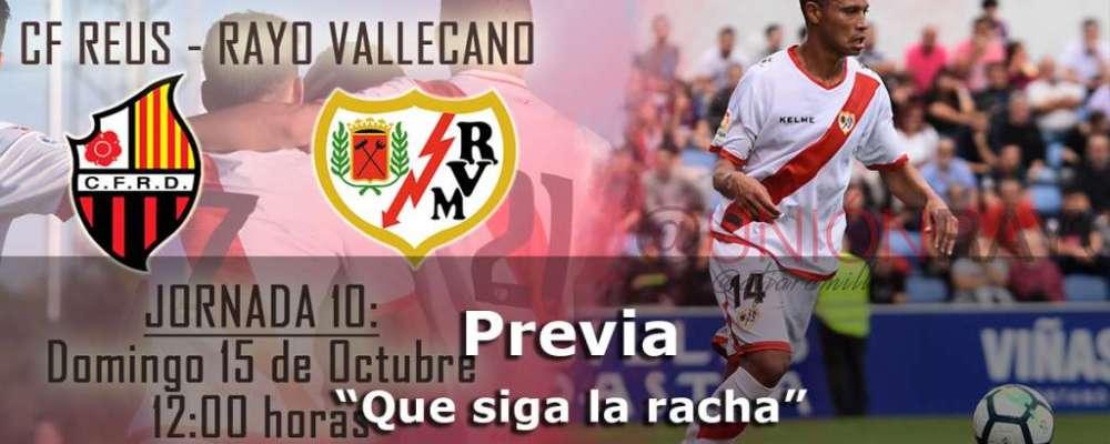 Previa: Reus – Rayo Vallecano