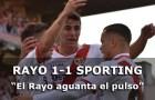 Crónica: Rayo 1-1 Sporting