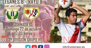 Previa: Leganés B -Rayo B