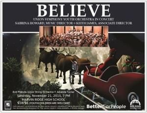 Believe 15 Poster