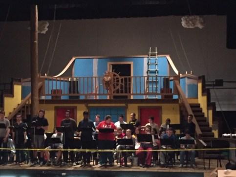 Pinafore Opera Rehearsal