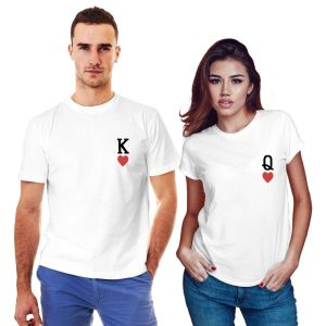 King Queen T shirts