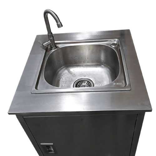 sysbel stainless steel hand wash system