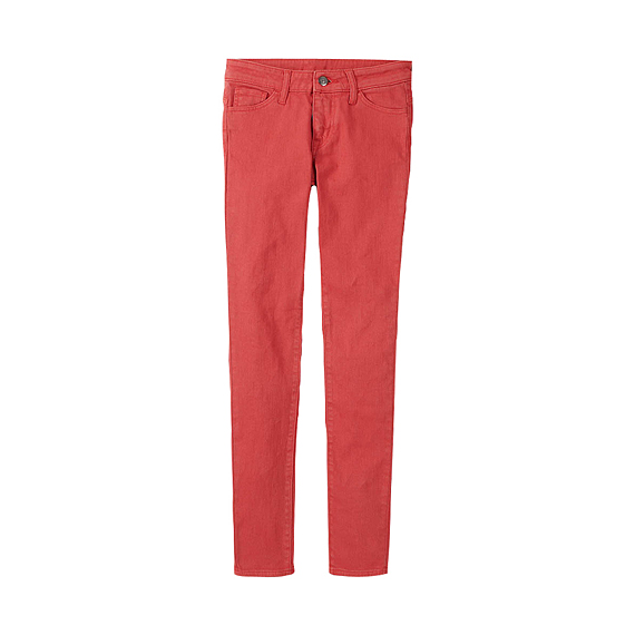 WOMEN Colour Skinny Fit Tapered Jeans