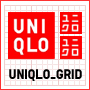 Uniqlo grid logo
