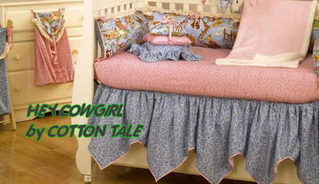 Cowgirl Crib Bedding