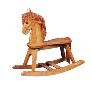 how to make a rocking horse for kids