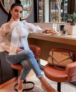 bluza dama, camasa dama, bluza eleganta, bluza voal, haine dama, unique fashion,