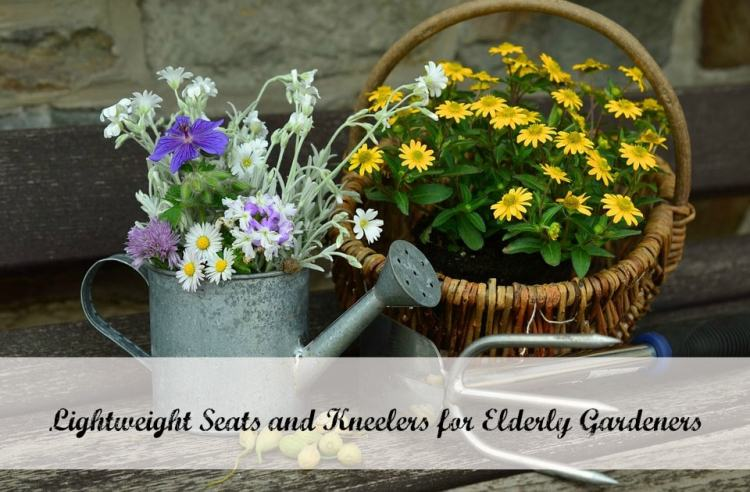 gardening seats with kneelers