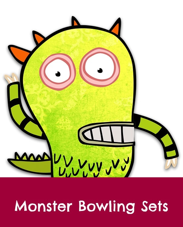 monster bowling sets
