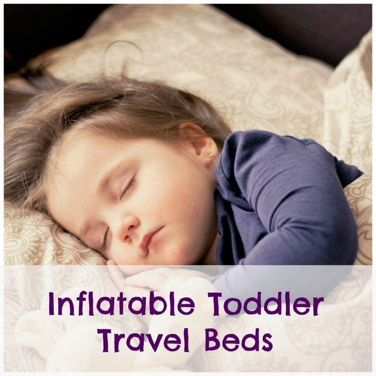 inflatable toddler travel beds